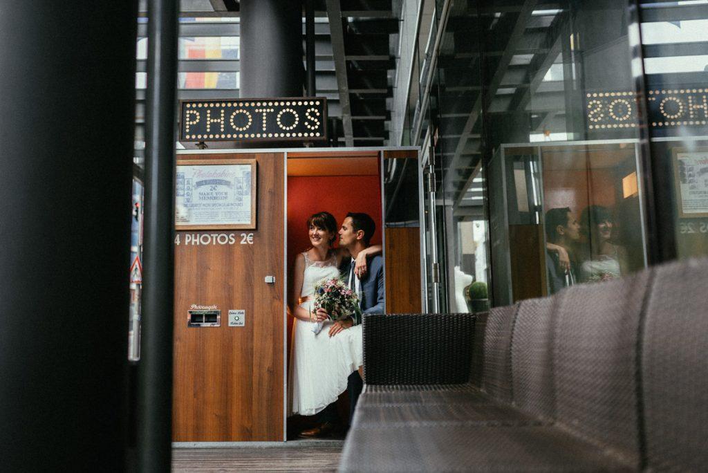 Paarshooting im photobooth